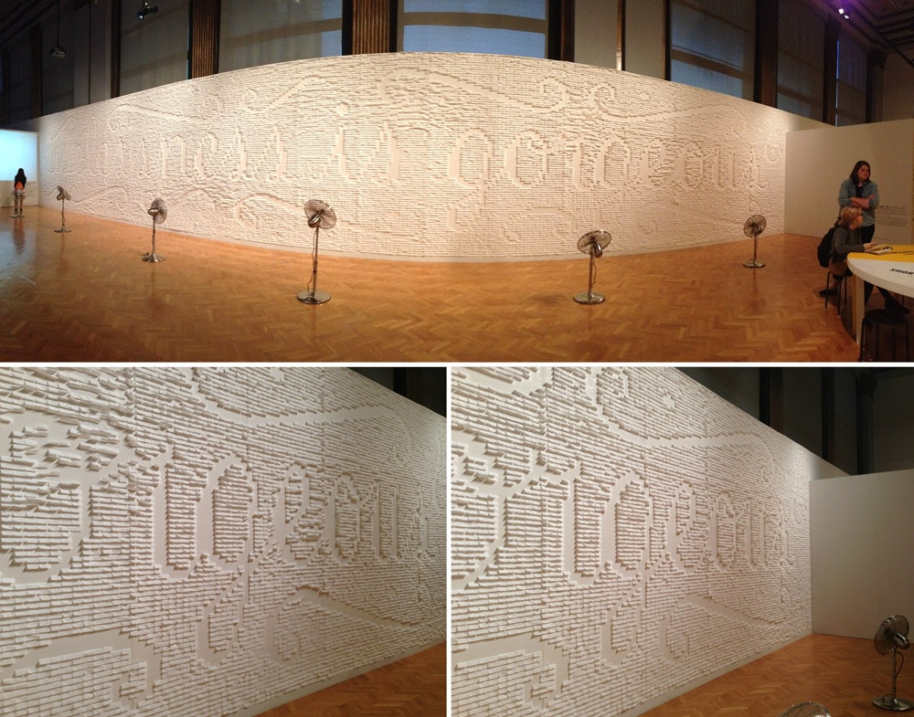 Stefan Sagmeister The Happy Show Chicago by @chykalophia